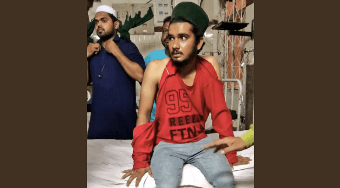 Karimnagar youth refutes being beaten for not chanting 'Jai Shree Ram'