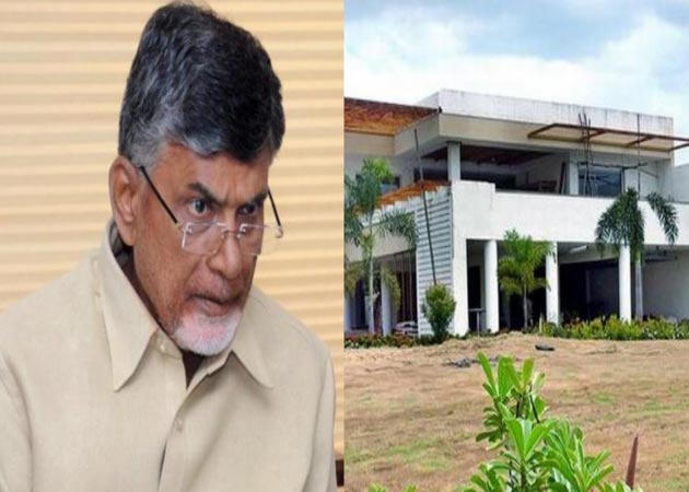 Chandrababu Naidu asked to vacate residence, receives demolition notice