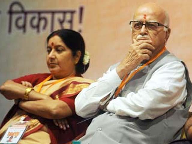 Decisions regarding Sushma Swaraj, Advani and Joshi's positions in Rajya Sabha to be taken this week