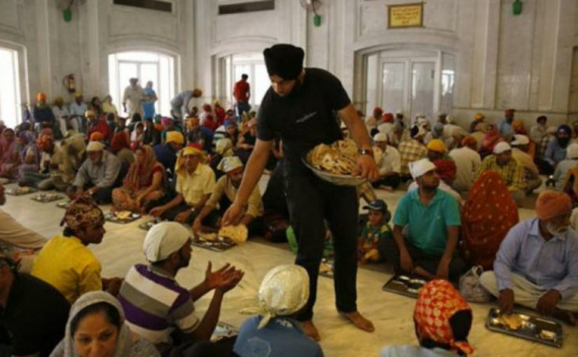 Gurudwaras receive 57 lakhs as GST refund for langar