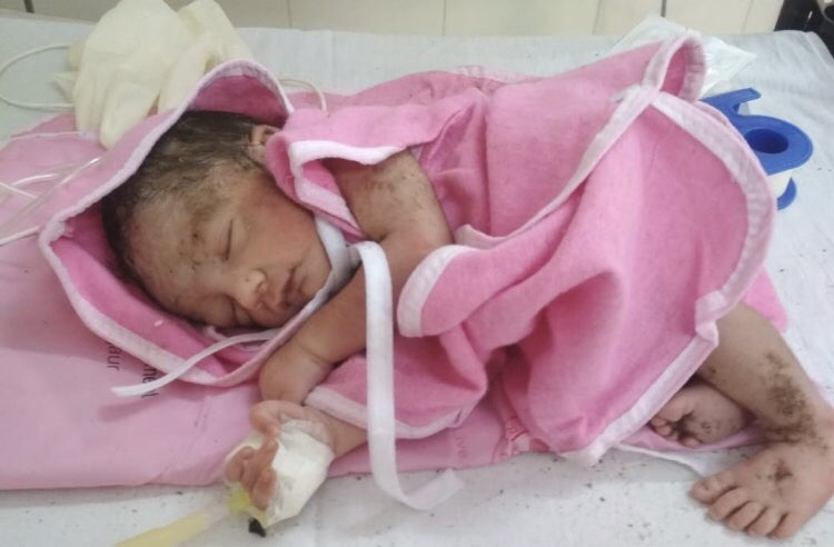 Journalist couple to adopt an abandoned baby girl in Rajasthan