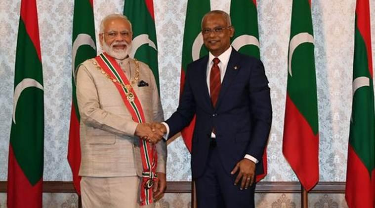 Maldives confers PM Modi with Highest Civilian Award