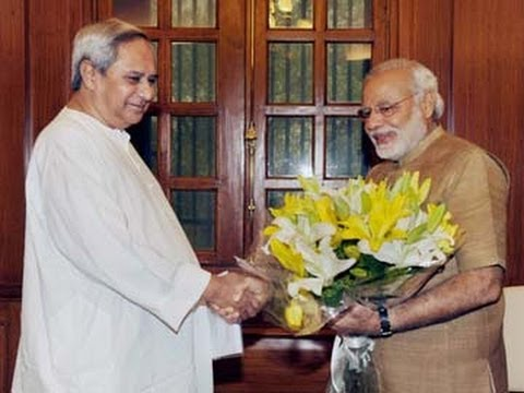 Naveen Patnaik requests PM Modi to grant special category status to Odisha
