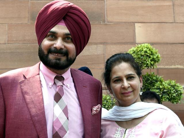 Navjot Singh Sidhu's wife says he was not invited to a post-poll meeting