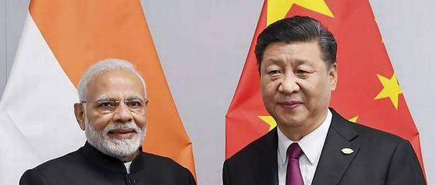 Bilateral Relations Narendra Modi Meets China President Xi In Shanghai Co-operation Organisation