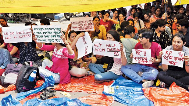 Protests erupt after intern doctor was attacked in Kolkata hospital