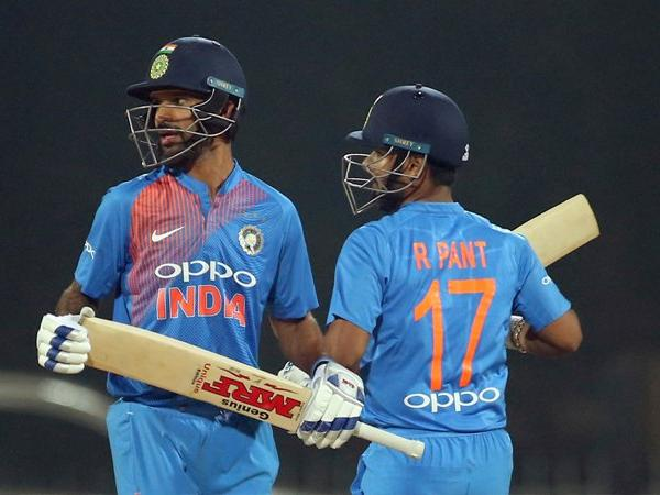 Shikhar Dhawan to be replaced by Rishab Pant in the ICC World Cup