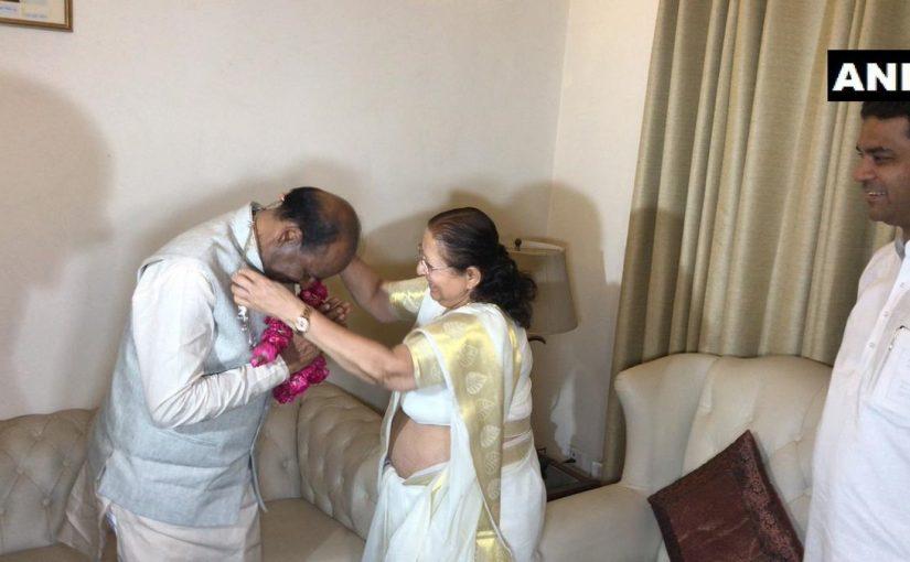 सुमित्रा महाजन के बाद कहा जेया रहा है ओम बिरला बनेंगे संसद अध्यक्ष