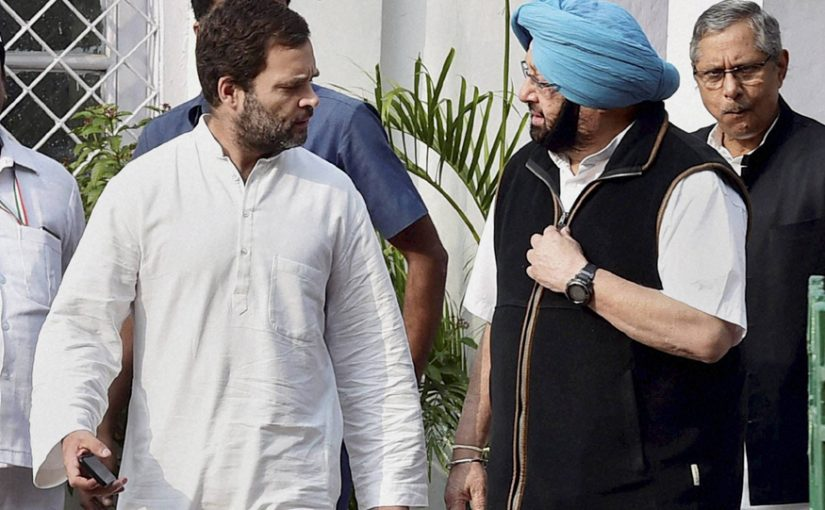 Amarinder Singh says Congress needs a young leader for its future