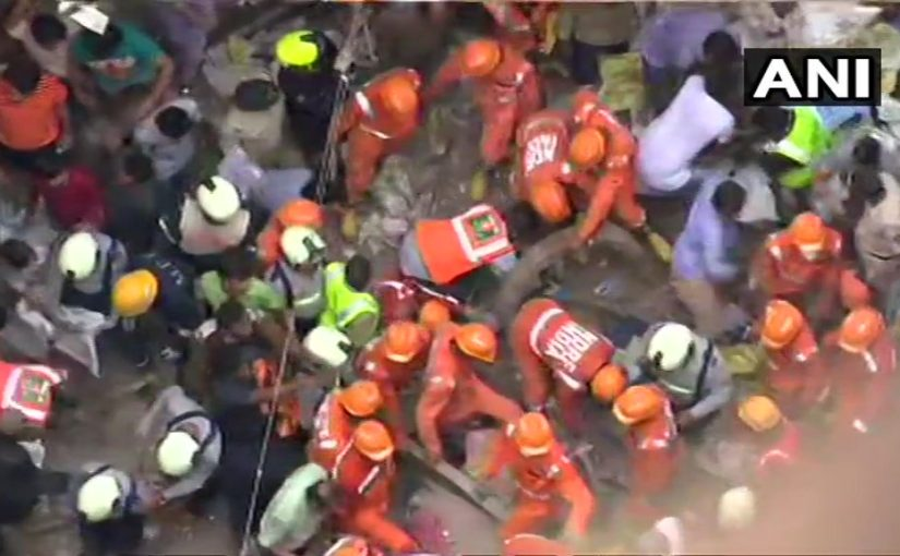 100 year old Mumbai building collapses, local authorities blamed