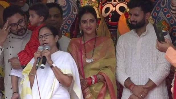 Nusrat Jahan attends Rath Yatra and spreads message of religious harmony