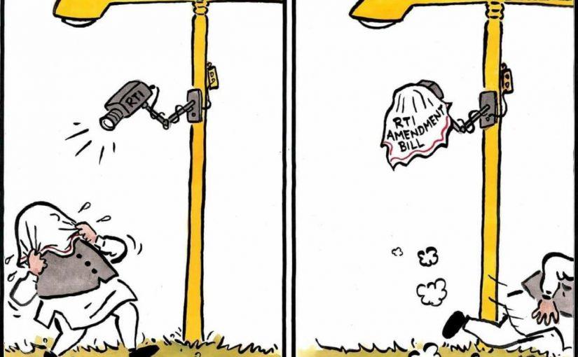 Non NDA Parties support RTI Amendment Bill