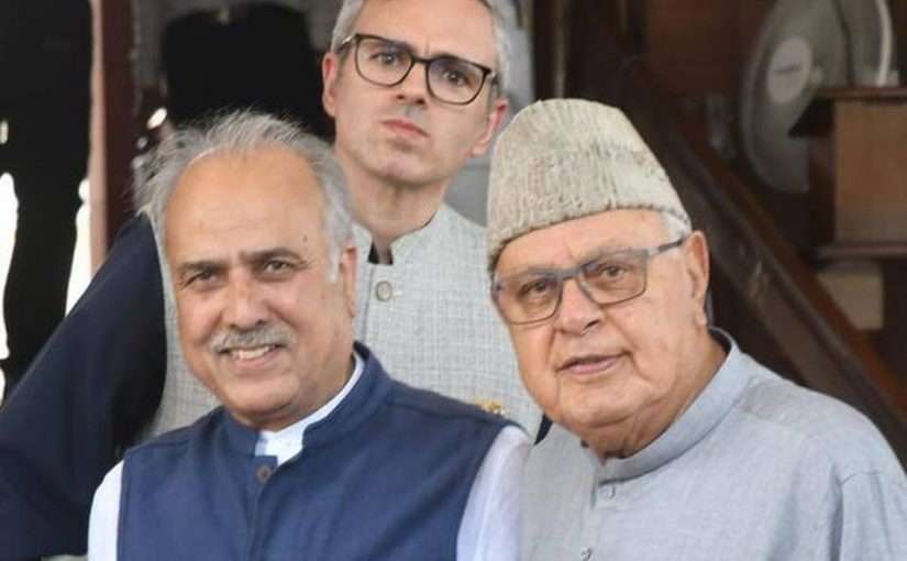 National Congress Farooq Abdullah Meets Prime Minister To Talk On Assembly Elections