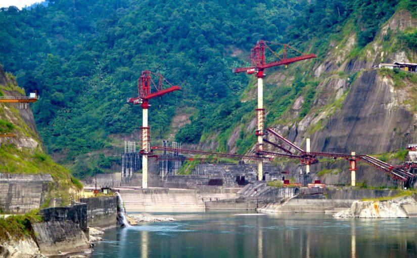 Blockade By Asom Jatiyatabadi Yuva Chatra Parishad's On Hydroelectric Project Subansiri Dam