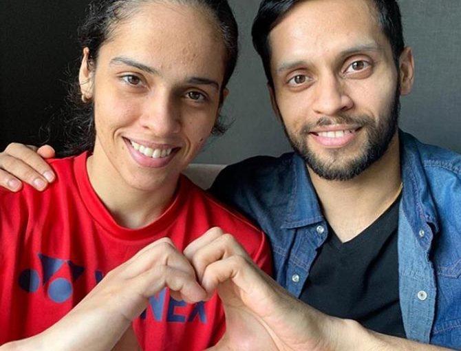 Saina Nehwal Badminton Player Hided Her Relationship With Parupali Kashyap