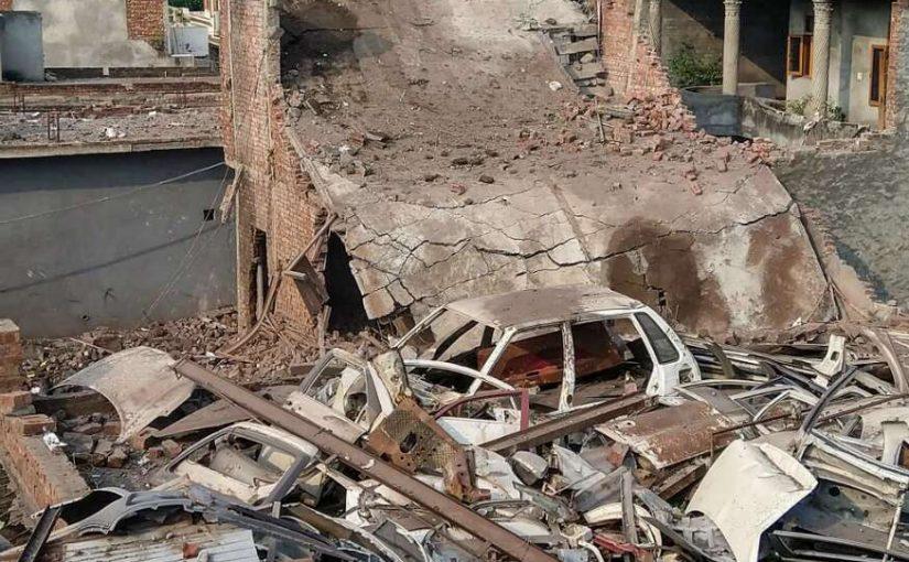 18 People Killed 14 Injured In Blast Within Illegal Factory Gurdaspur Punjab