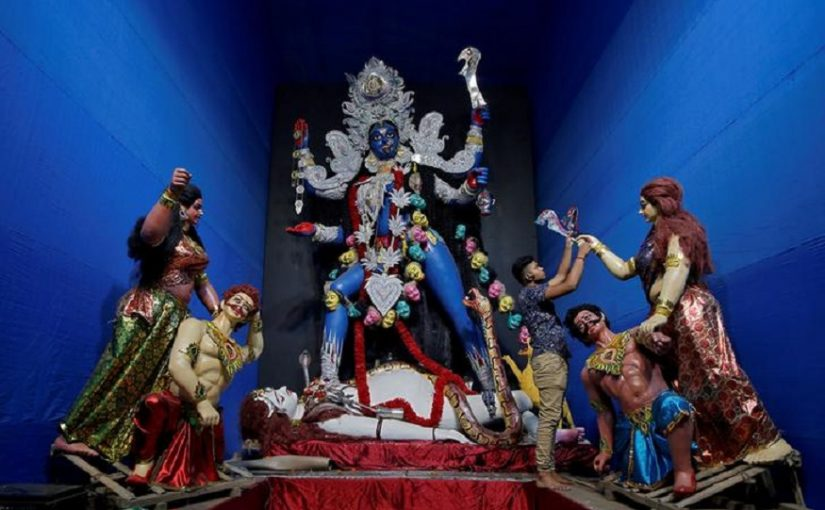 Kolkata Kali Puja Air Pollution Reduced Compared To Last Year