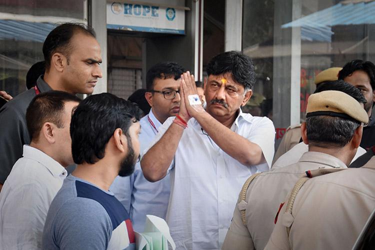 Supreme Court extends DK Shivkumar's judicial custody period