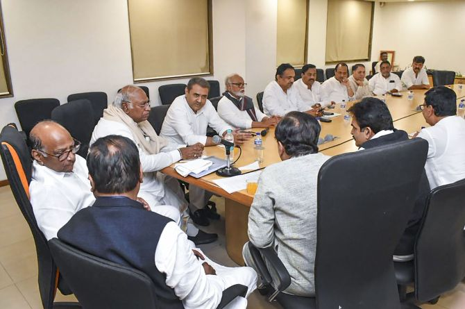 NCP-Congress Meeting In Mumbai To Discuss On Common Minimum Programme