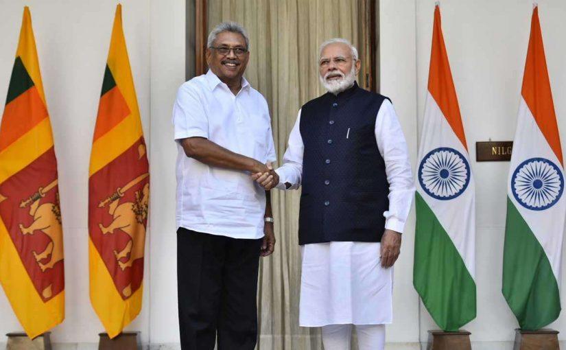 Sri Lanka President Gotabaya Rajapaksa On Three Day Visit In India