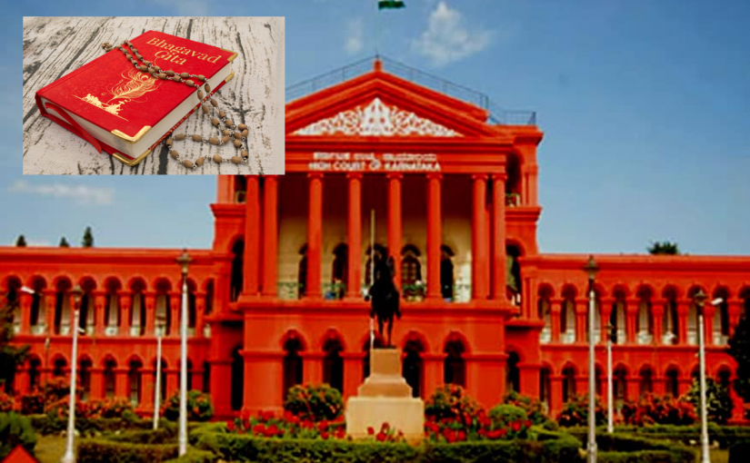 Karnataka High Court Rejects Plea by 2 Christians Accused of Insulting Bhagavad Gita