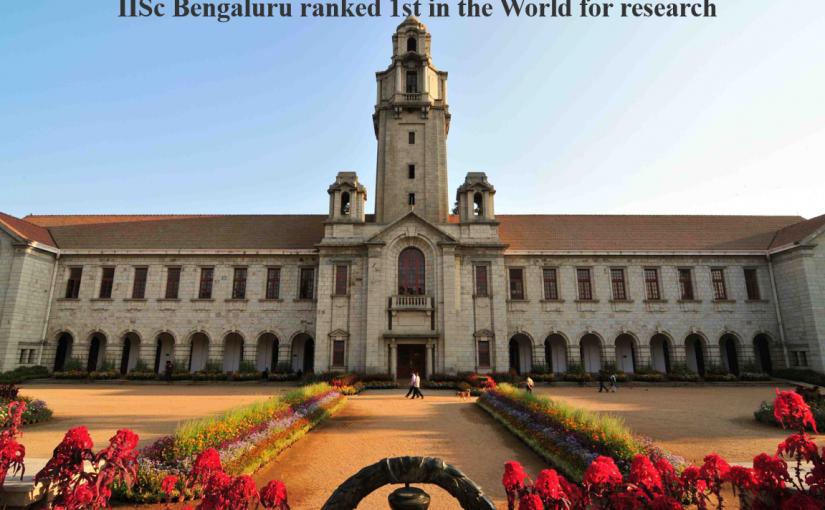 Proud Moment For Indians : IIT Bombay, IIT Delhi And IISc Bengaluru In Top-200 Positions In QS World University Rankings 2022